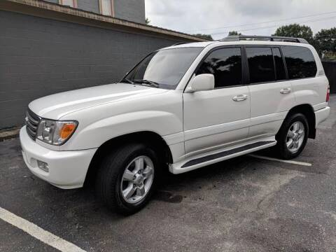 2005 Toyota Land Cruiser for sale at Budget Cars Of Greenville in Greenville SC