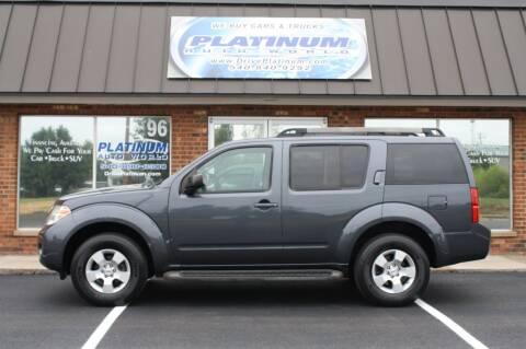 2010 Nissan Pathfinder for sale at Platinum Auto World in Fredericksburg VA
