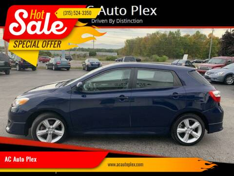 2009 Toyota Matrix for sale at AC Auto Plex in Ontario NY