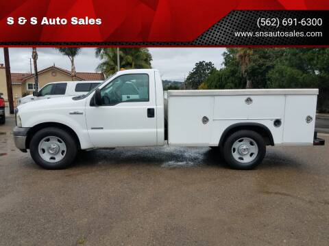 2005 Ford F-350 Super Duty for sale at S & S Auto Sales in La  Habra CA