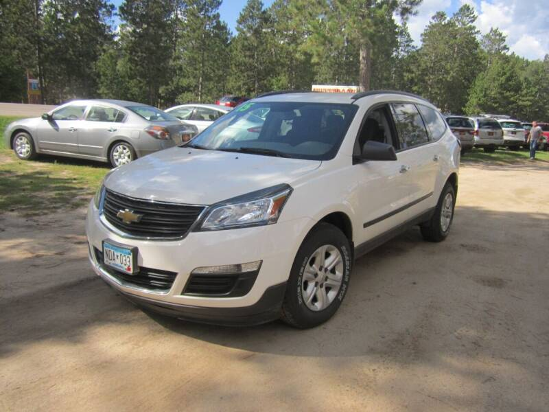 2015 Chevrolet Traverse for sale at SUNNYBROOK USED CARS in Menahga MN