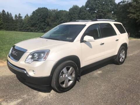 2011 GMC Acadia for sale at Hutchys Auto Sales & Service in Loyalhanna PA