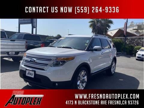 2014 Ford Explorer for sale at Fresno Autoplex in Fresno CA