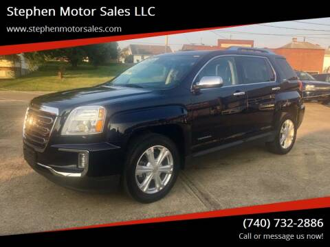 2016 GMC Terrain for sale at Stephen Motor Sales LLC in Caldwell OH