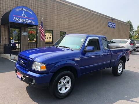 2006 Ford Ranger for sale at CJ Clark's New England Motor Car Company in Hudson NH