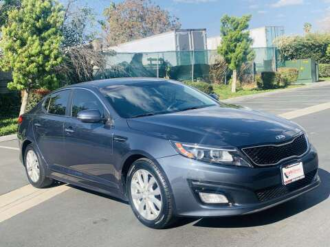 2015 Kia Optima for sale at CARLIFORNIA AUTO WHOLESALE in San Bernardino CA