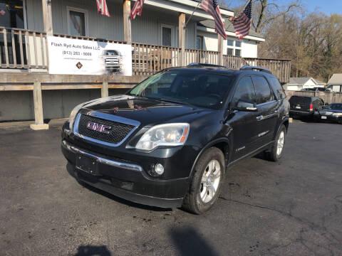 2008 GMC Acadia for sale at Flash Ryd Auto Sales in Kansas City KS