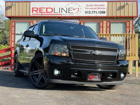 2007 Chevrolet Avalanche for sale at REDLINE AUTO SALES LLC in Cedar Creek TX