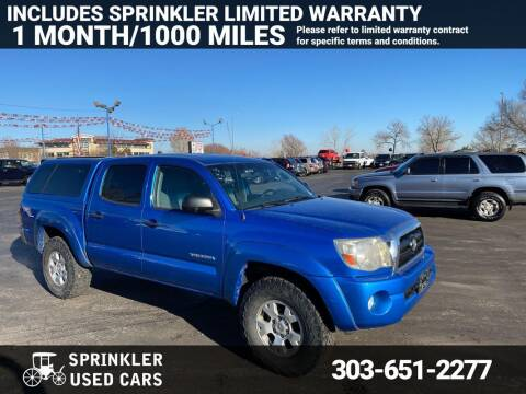 2006 Toyota Tacoma for sale at Sprinkler Used Cars in Longmont CO