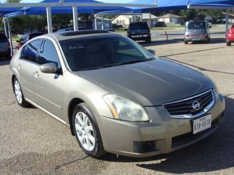 2008 Nissan Maxima for sale at Chuck Spaugh Auto Sales in Lubbock TX
