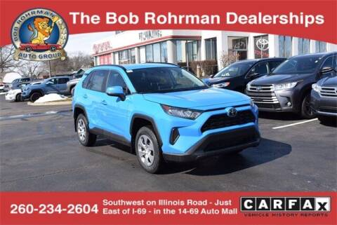 2021 Toyota RAV4 for sale at BOB ROHRMAN FORT WAYNE TOYOTA in Fort Wayne IN