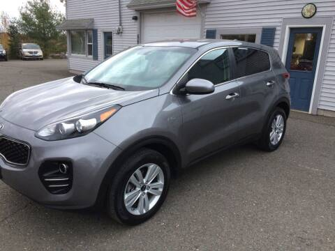 2017 Kia Sportage for sale at CLARKS AUTO SALES INC in Houlton ME