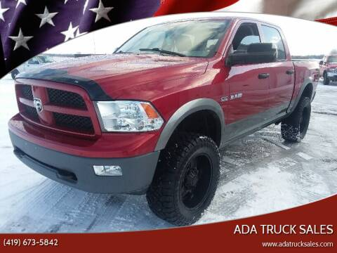 2010 Dodge Ram Pickup 1500 for sale at Ada Truck Sales in Ada OH