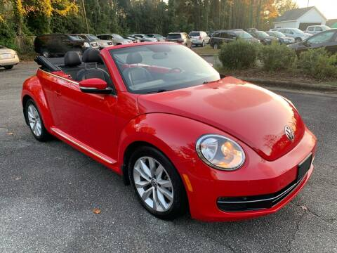 2013 Volkswagen Beetle Convertible for sale at Triangle Motors Inc in Raleigh NC