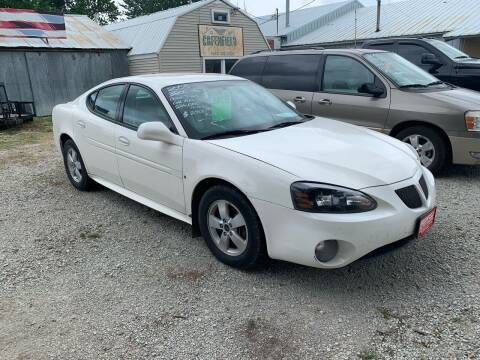 2006 Pontiac Grand Prix for sale at GREENFIELD AUTO SALES in Greenfield IA