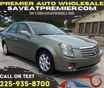 2005 Cadillac CTS for sale at Premier Auto Wholesale in Baton Rouge LA