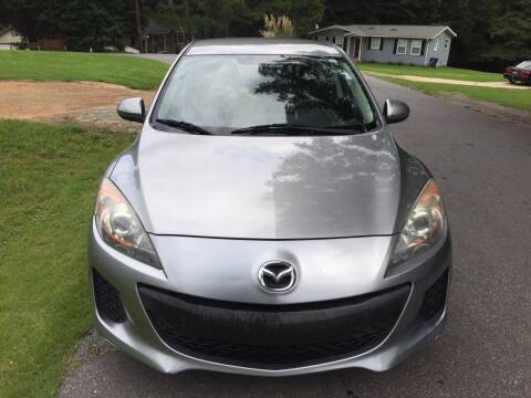 2013 Mazda MAZDA3 for sale at CAR STOP INC in Duluth GA