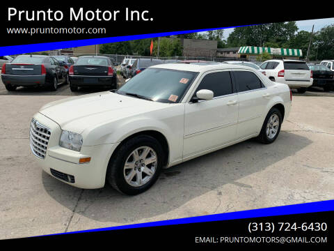 2007 Chrysler 300 for sale at Prunto Motor Inc. in Dearborn MI