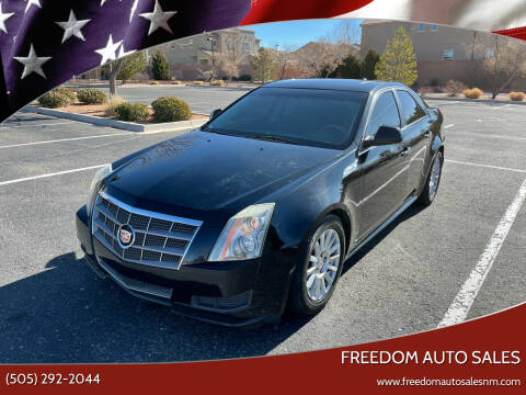 2010 Cadillac CTS for sale at Freedom Auto Sales in Albuquerque NM