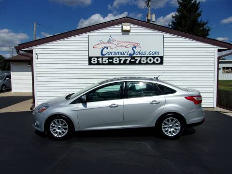 2012 Ford Focus for sale at CARSMART SALES INC in Loves Park IL