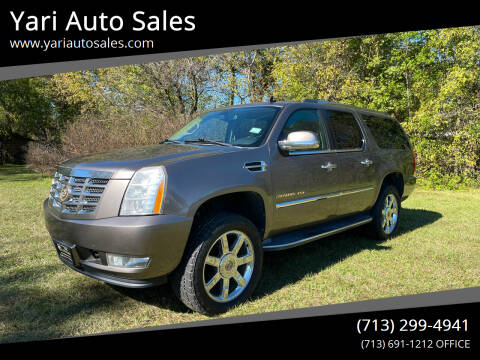 2012 Cadillac Escalade ESV for sale at Yari Auto Sales in Houston TX