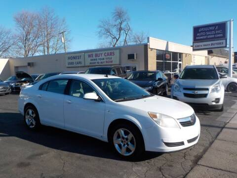 2009 Saturn Aura for sale at Gregory J Auto Sales in Roseville MI