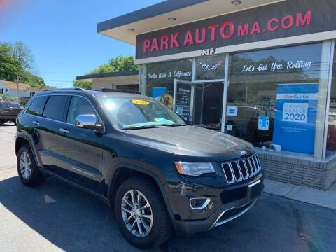 2014 Jeep Grand Cherokee for sale at Park Auto LLC in Palmer MA