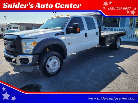 2015 Ford F-550 Super Duty for sale at Snider's Auto Center in Titusville FL