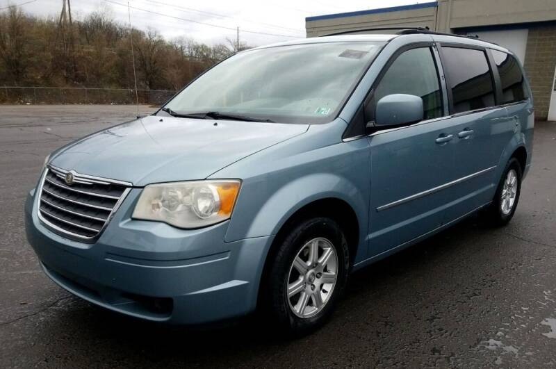 2010 Chrysler Town and Country for sale at Angelo's Auto Sales in Lowellville OH