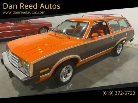 1979 Ford Pinto for sale at Dan Reed Autos in Escondido CA