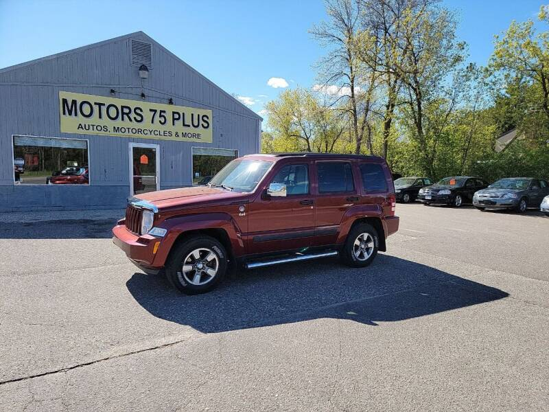 2008 Jeep Liberty for sale at Motors 75 Plus in Saint Cloud MN