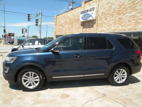2017 Ford Explorer for sale at Kingdom Auto Centers in Litchfield IL