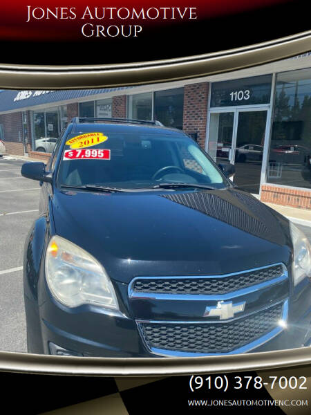 2011 Chevrolet Equinox for sale at Jones Automotive Group in Jacksonville NC