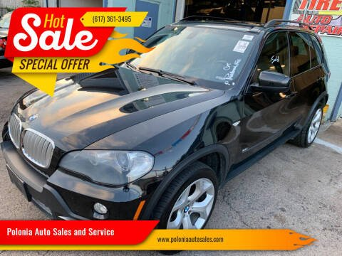 2008 BMW X5 for sale at Polonia Auto Sales and Service in Hyde Park MA