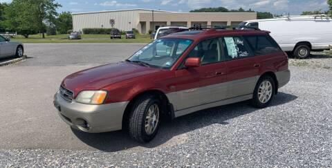 2002 Subaru Outback for sale at Bailey's Auto Sales in Cloverdale VA