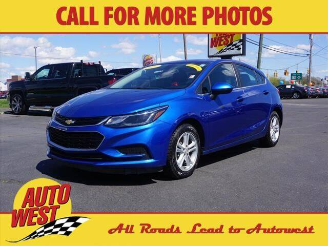 2017 Chevrolet Cruze for sale at Autowest of Plainwell in Plainwell MI