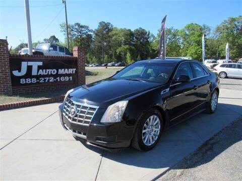 2012 Cadillac CTS for sale at J T Auto Group in Sanford NC