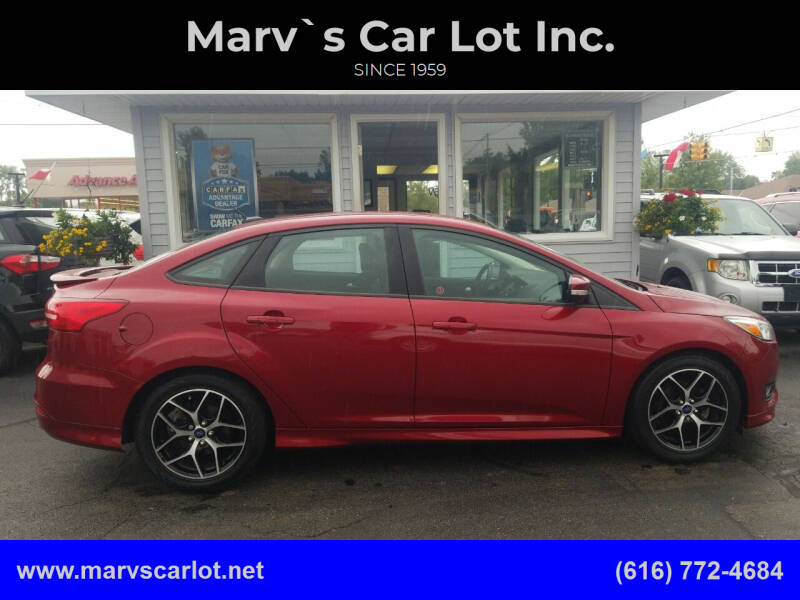 2016 Ford Focus for sale at Marv`s Car Lot Inc. in Zeeland MI