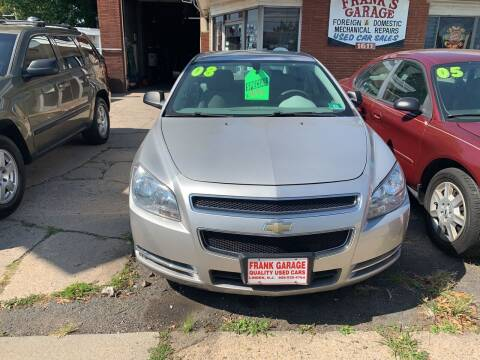 2008 Chevrolet Malibu for sale at Frank's Garage in Linden NJ
