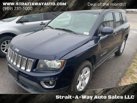 2017 Jeep Compass for sale at Strait-A-Way Auto Sales LLC in Gaylord MI