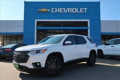 2021 Chevrolet Traverse for sale at Lipscomb Auto Center in Bowie TX