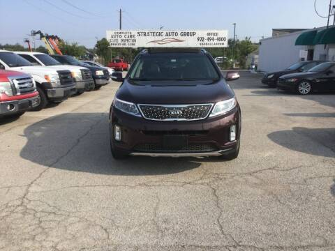 2014 Kia Sorento for sale at Strategic Auto Group in Garland TX