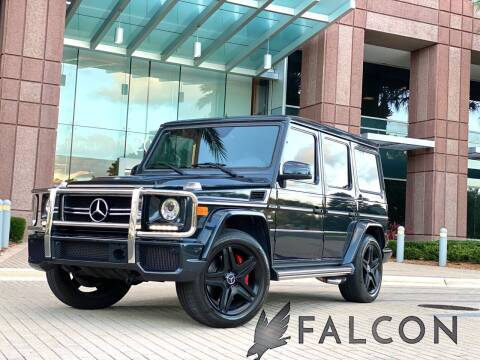 2013 Mercedes-Benz G-Class for sale at FALCON MOTOR GROUP in Orlando FL
