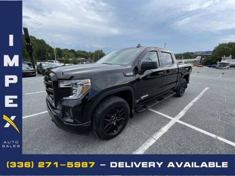2019 GMC Sierra 1500 for sale at Impex Auto Sales in Greensboro NC