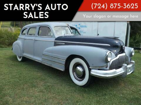 1942 Buick Limited  Model 91 for sale at STARRY'S AUTO SALES in New Alexandria PA