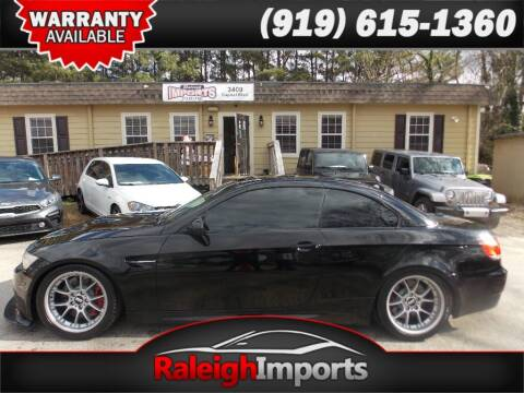2010 BMW M3 for sale at Raleigh Imports in Raleigh NC