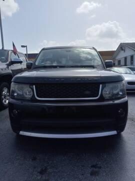 2013 Land Rover Range Rover Sport for sale at Navarro Auto Motors in Hialeah FL