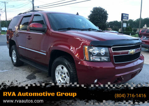 2011 Chevrolet Tahoe for sale at RVA Automotive Group in North Chesterfield VA