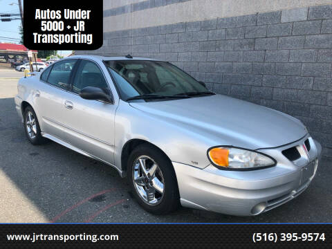 2003 Pontiac Grand Am for sale at Autos Under 5000 + JR Transporting in Island Park NY