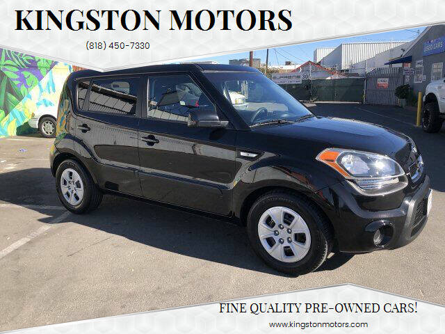 2013 Kia Soul for sale at Kingston Motors in North Hollywood CA